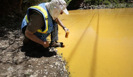 Can EPA Pollute America's Waterways Other Colors Too?