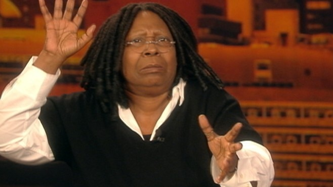 Party's Over, Everybody Out of Whoopi Goldberg's Vagina!