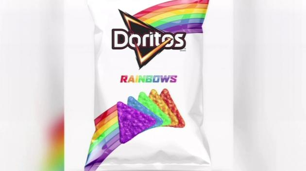 Frito-Gay Comes Out of the Bag With Doritos Rainbow Chips