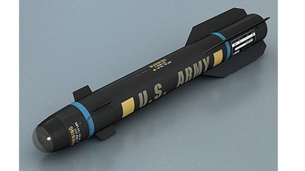 army drops missile