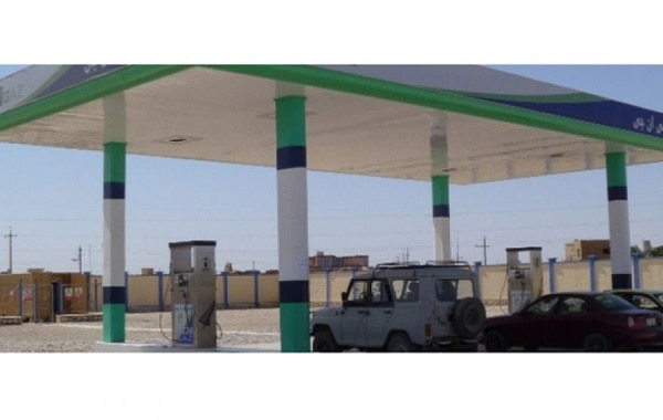 gas station in afghanistan