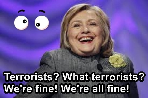 Hillary, Obama Suggest Ignoring ISIS and They'll Go Away