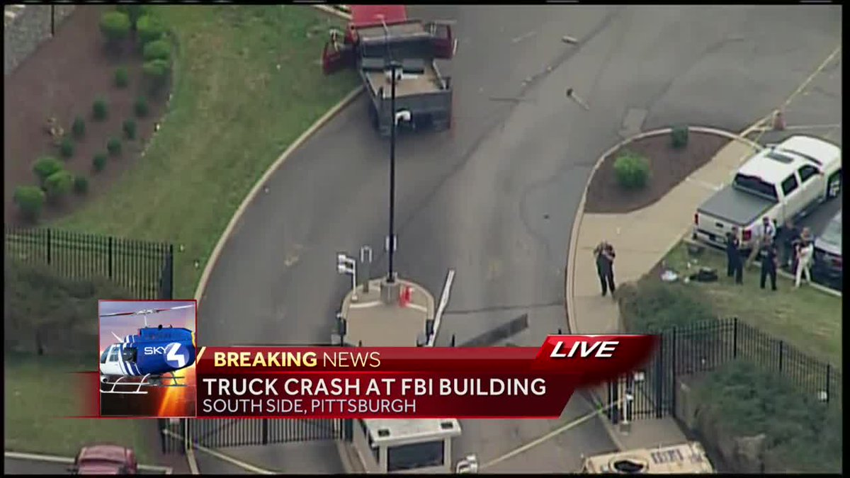 Gate Crasher – FBI in Pittsburgh Gets Unwanted Guest