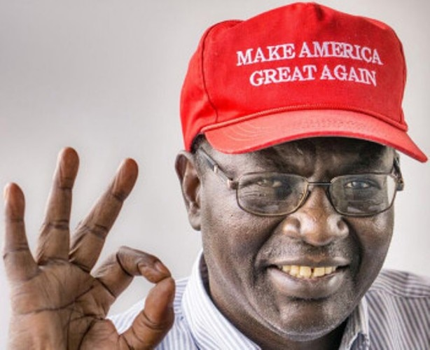 Obama's Half Brother is Voting for Trump