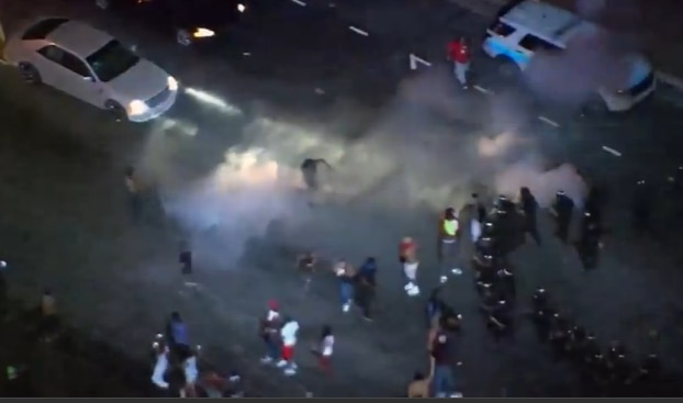 Charlotte and Tulsa erupt  after police shootings