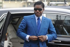 The president's son and heir-apparent Teodorin-Nguema-Obiang