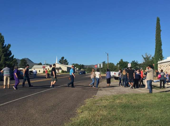 Alpine High School Shooting- 1 dead, 1 wounded