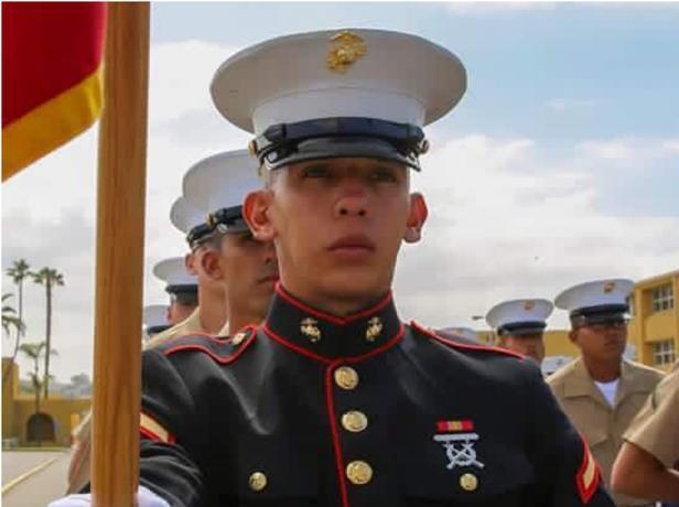 US Marine Shot While on Weekend Leave