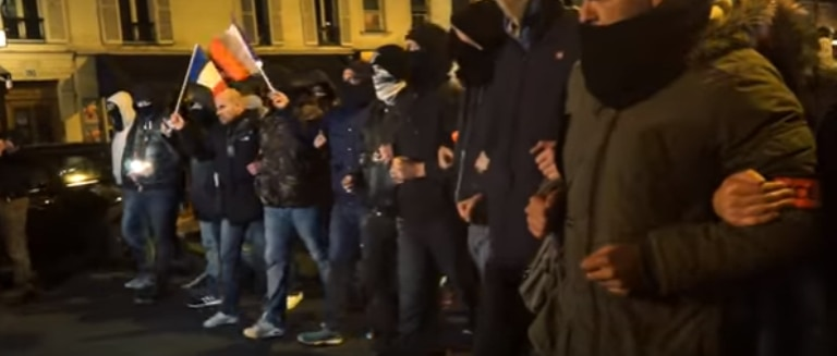 """French Police Protests -""""We're no longer able to defend ourselves"""""""