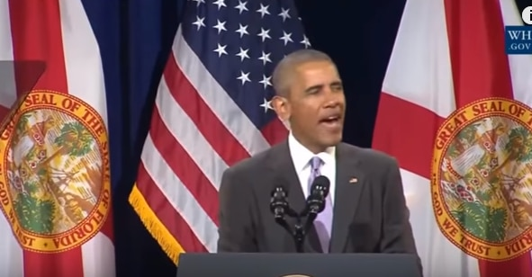 Obama hints that Obamacare is failing because of racism