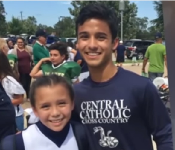 Texas Teen Rescues Military Daughter Who Misses Her Dad