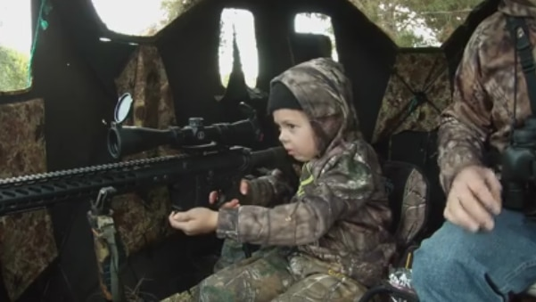 7 year old's first deer hunt goes viral