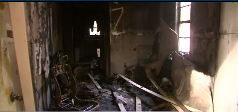 Florida- Navy Veteran's House Torched, Vandalized