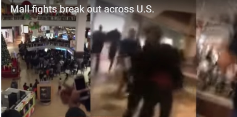 Day after Christmas -Brawls Came to the Malls