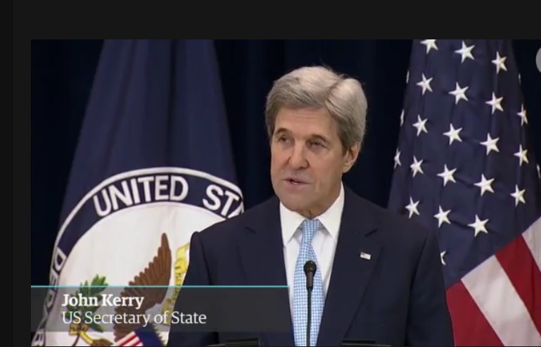 """John Kerry – """"Israel can't be Jewish and a Democracy at the same time"""""""