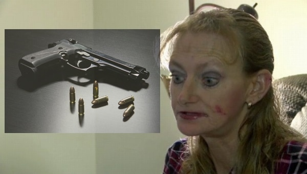 Home Invader Attacks Woman, Woman Gets Gun. Invader Deceased.