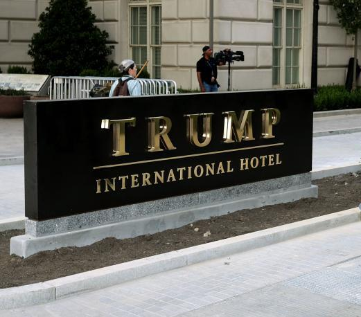 Liberal Tries to Set Himself on Fire Near Trump Hotel