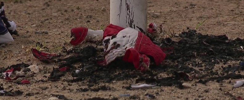 WWII Veteran's Flags Burned, The Community Responds