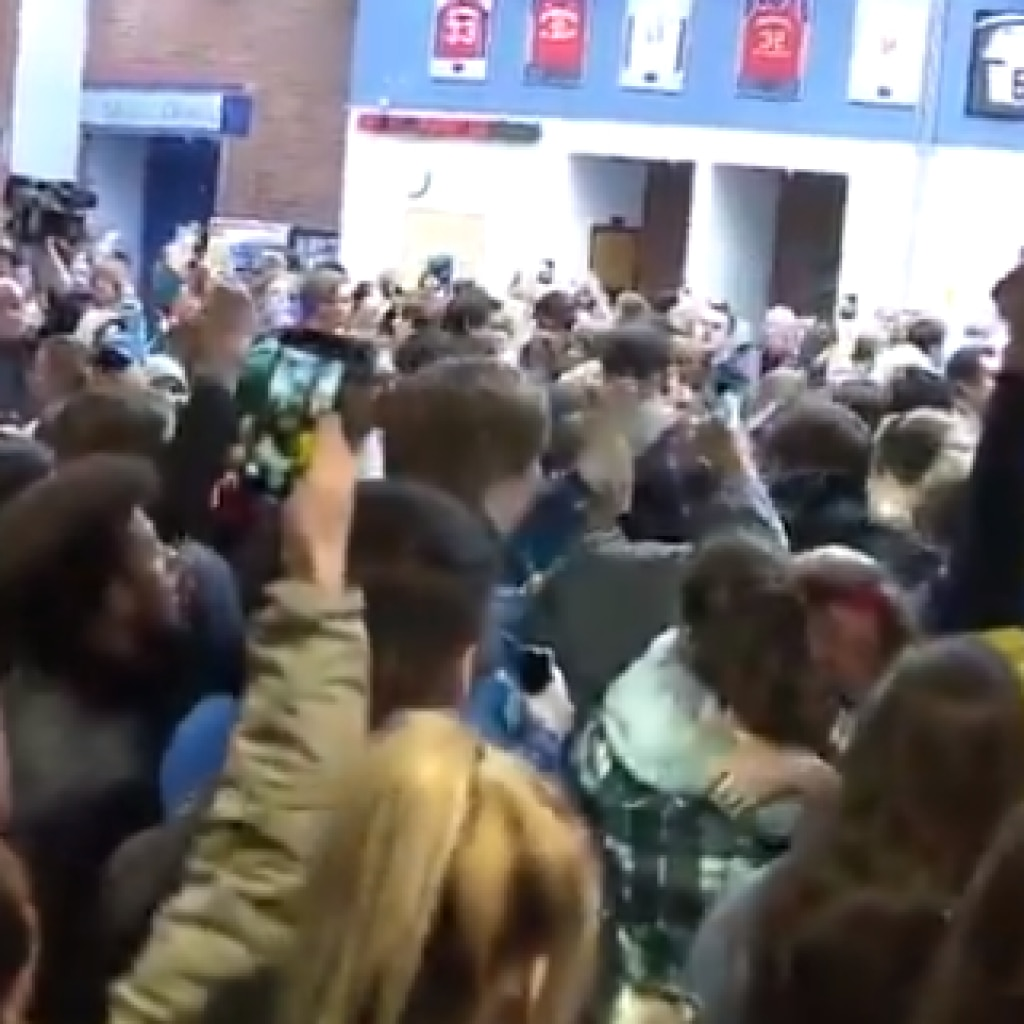 STEM School Students Leave Vigil After Dems Politicize The
