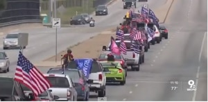 cincinnati trump parade