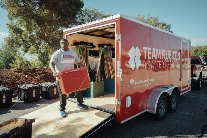 Team Rubicon veterans conduct disaster relief