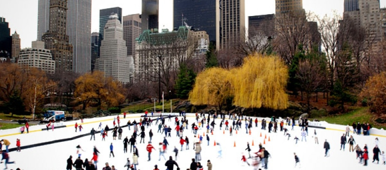 Liberal Moms Won't Let Kids Enjoy Ice Skating at Trump Rink