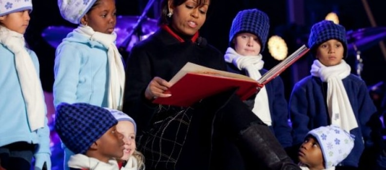 """'Twas No Hope Before Christmas"" by Michelle Obama"