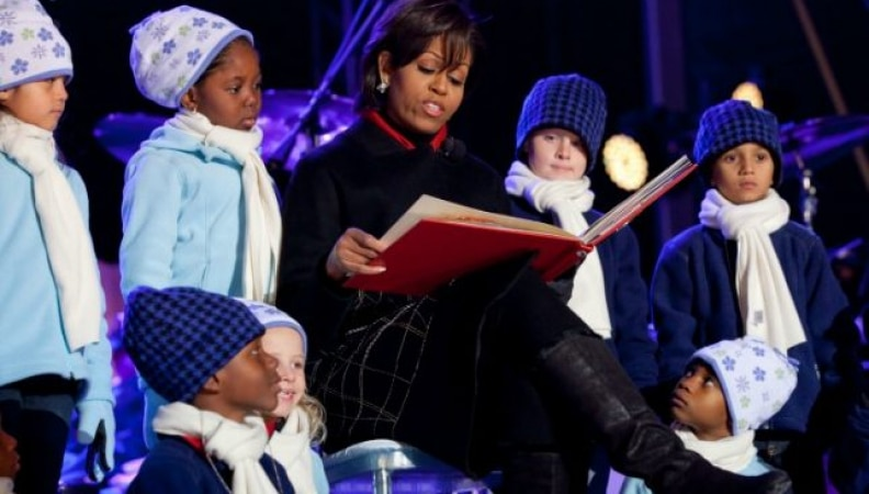 """""""'Twas No Hope Before Christmas"""" by Michelle Obama"""