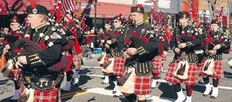 Nassau County Firefighters Pipes and Drums Band – to the Inauguration!