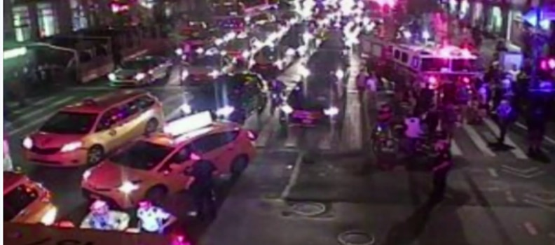 Dumpster Explosion in New York's Chelsea Neighborhood – possible IED