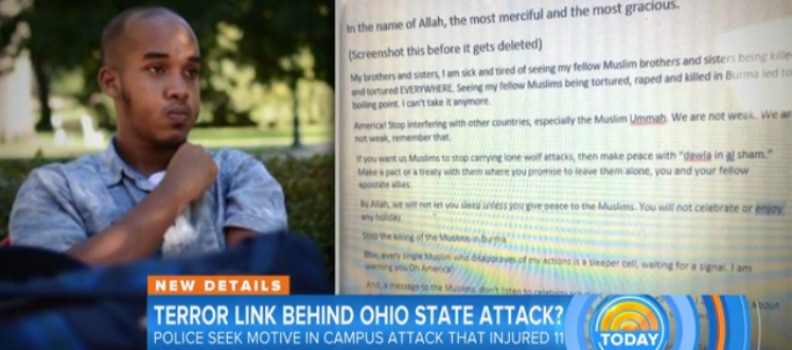 ISIS Takes Credit for OSU Attack