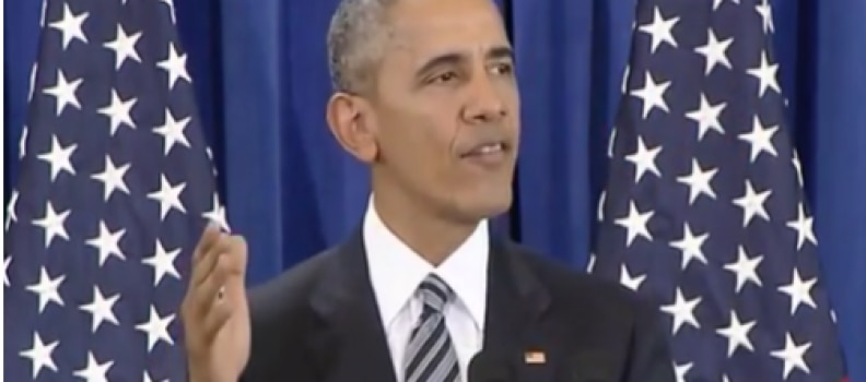 Obama Undermines the Military in His Last Message to Troops