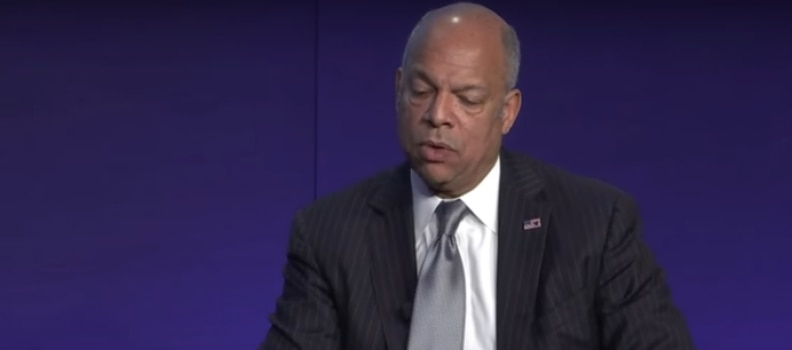 DHS Jeh Johnson – No the Russians Didn't Alter the Vote count