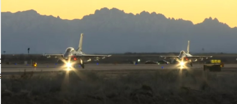 Holloman AFB Training Accident, 1 Dead, 1 Injured