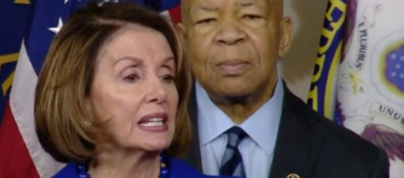 Nancy Pelosi and Elijah Cummings Reference Parody Tweets for Press Conference