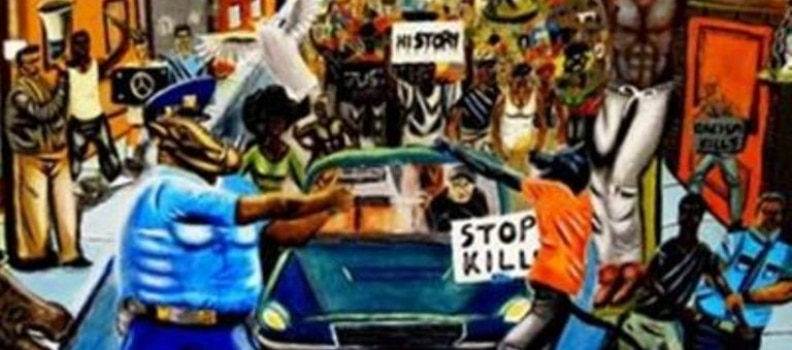 Congressman Hangs Anti-Police Painting in Capitol