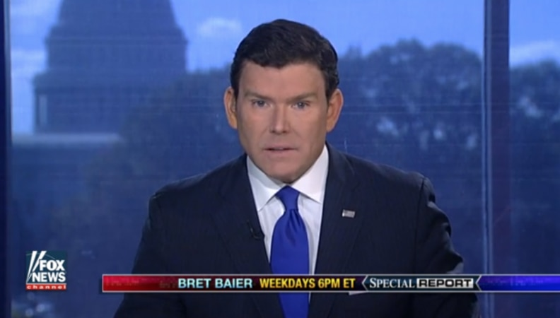 Bret Baier Backs Down From Clinton Indictment Claim