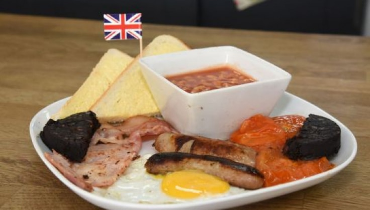 Image result for British cafe food