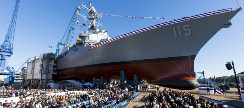 USS Rafael Peralta Christened in Honor of Marine Corps Sgt