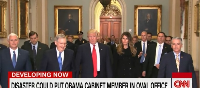 CNN runs story on assassinating Trump, says could put Obama crony in Power