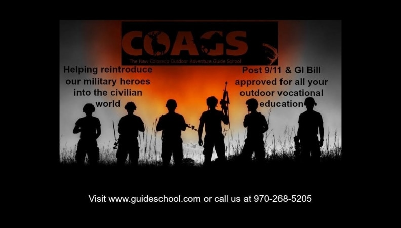 Outdoor Guide Training for Veterans: Hunting, Fishing, Horseback Riding in Colorado