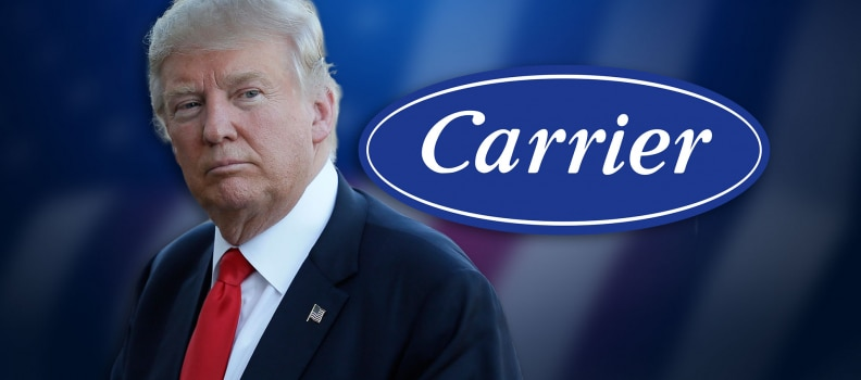 The Carrier Deal- Crony Capitalism?