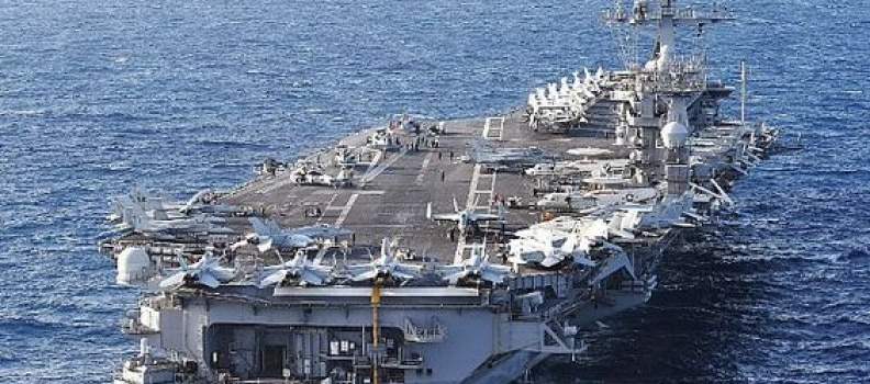 No USN Aircraft Carriers deployed anywhere