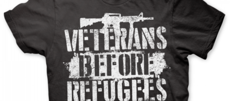 Veterans Before Refugees! Take a Stand!