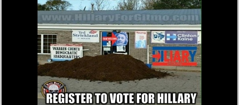 Pile Of Manure Finds Home In Front Of DNC HQ