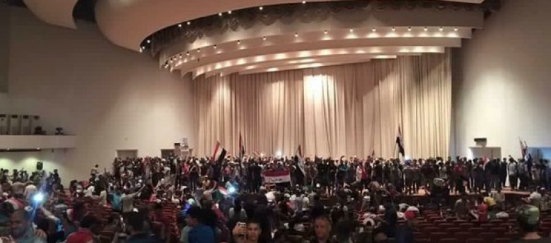 Iraq in Crisis – Hundreds Storm the Green Zone