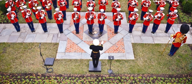 Marines Hymn – From the Halls of Montezuma to the Shores of Tripoli