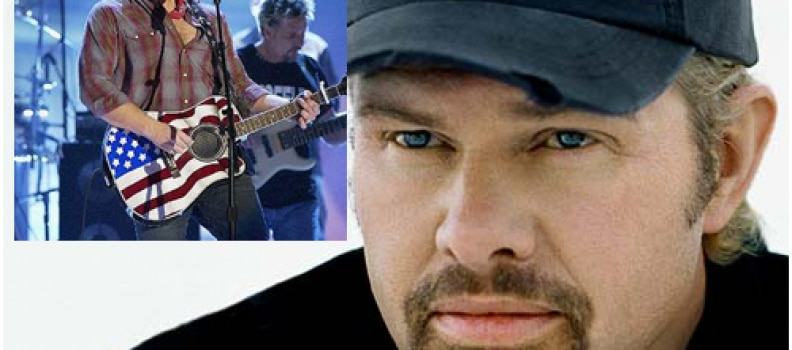 Naperville RibFest Refuses to Dump Toby Keith from Performers Line Up
