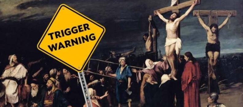 Trigger Warning Issued for Jesus' Crucifixion in a Theology Class